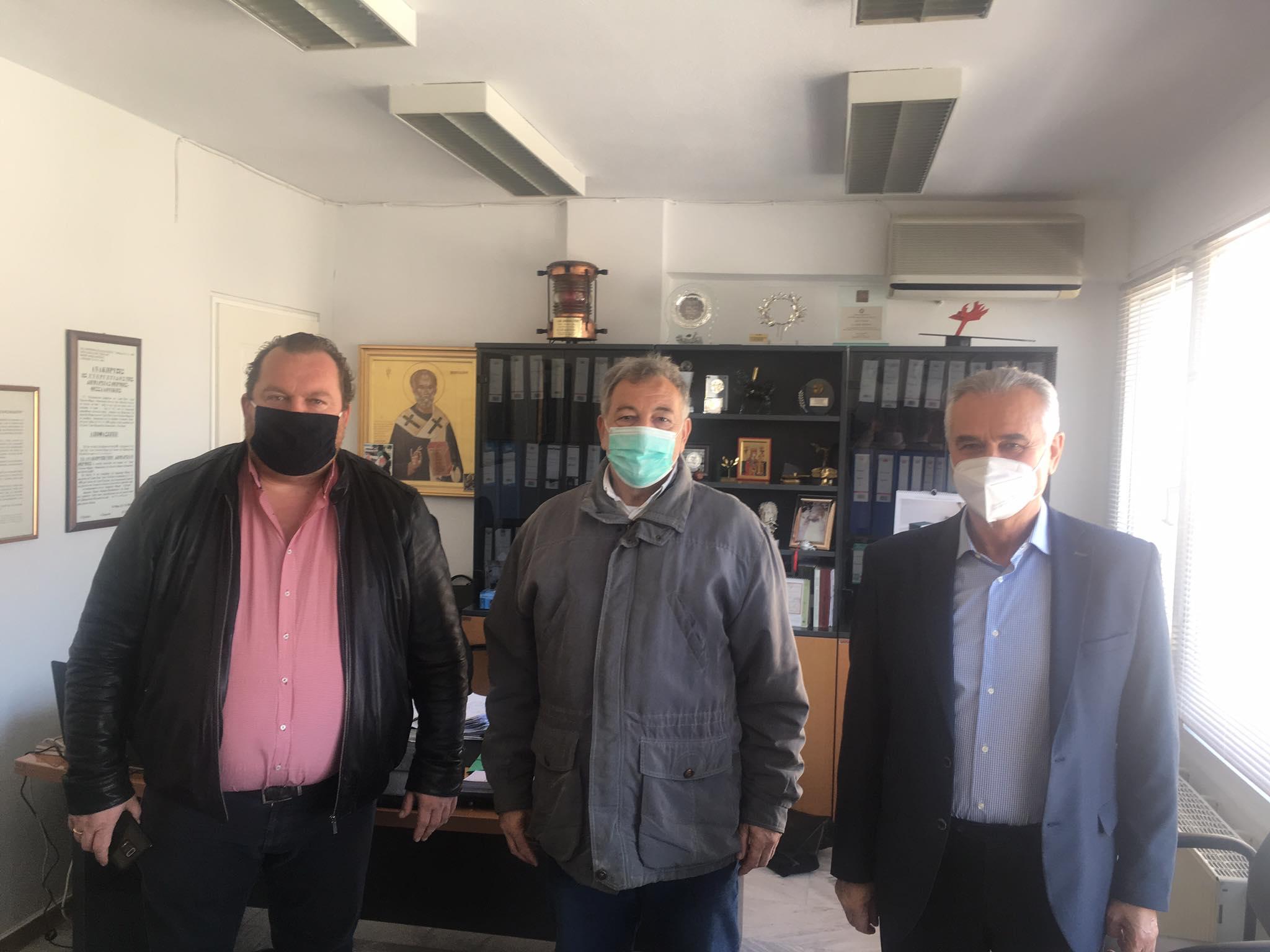 Συνάντηση του δημάρχου Θέρμης με τον βουλευτή Σάββα Αναστασιάδη